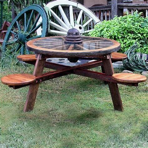 Table Patio En Bois by Patio Table Roues En Bois Meuble Bois