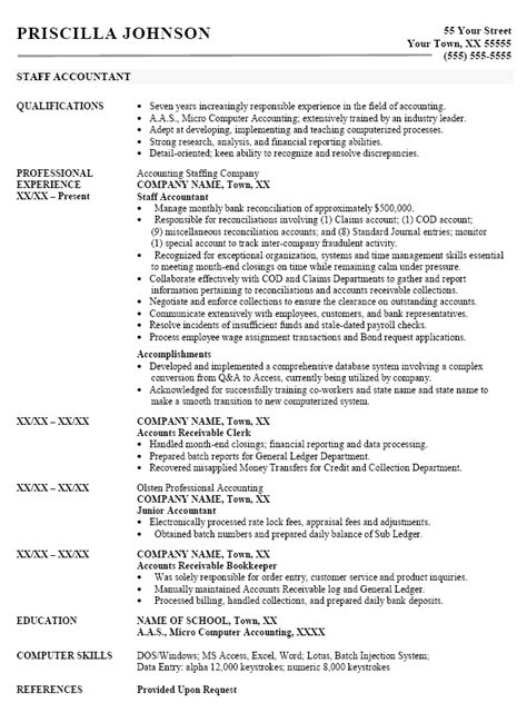 assistant sle resumes accounting assistant sle resume 28 images accounts