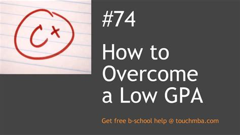 Low Gpa Mba Reddit by How To Overcome A Low Gpa