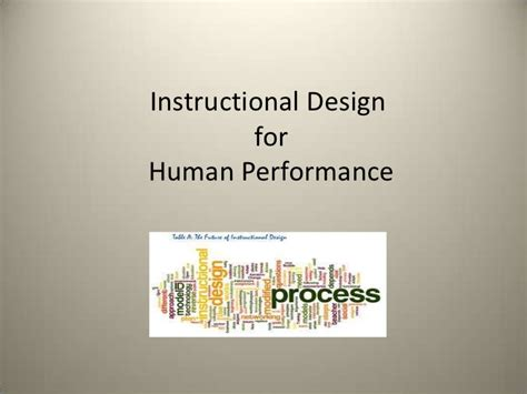 instructional design using powerpoint instructional design in hpt
