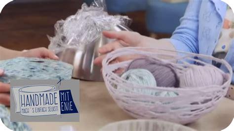 handmade mit enie sch 252 ssel aus wolle handmade mit enie mach s einfach