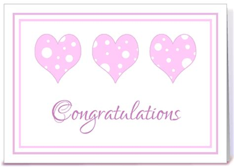 Baby Shower Congratulations Messages by Baby Shower Congratulations Pink Hearts Greeting Card By