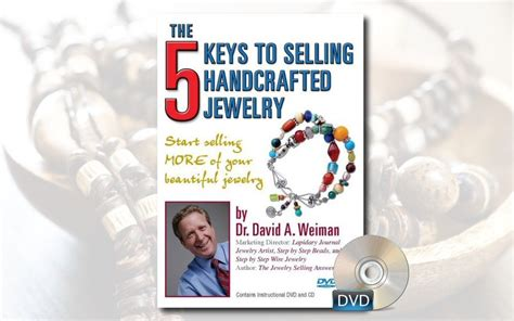 Marketing Handmade Jewelry - the 5 to selling handcrafted jewelry dvd cd workbook