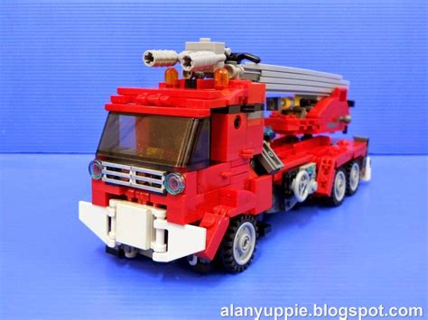 Lego Truck Can Change Car alanyuppie s lego transformers lego inferno part 1 vehicle mode lego transformers