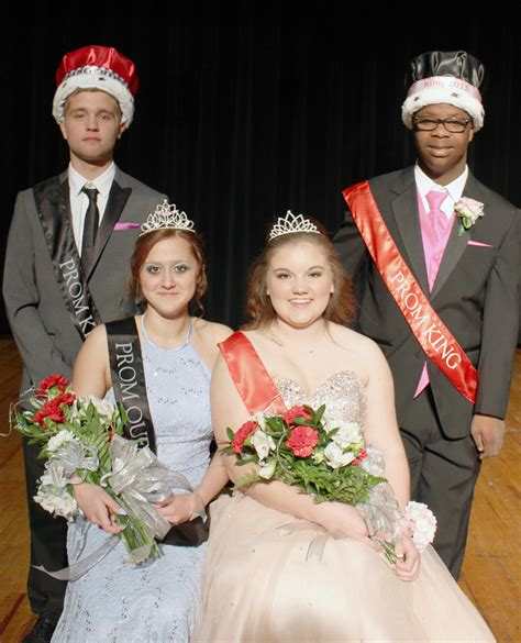 high school prom dance king and queen canton troy pa school student news the canton