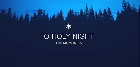 o holy night now for sale for license tim mcmorris