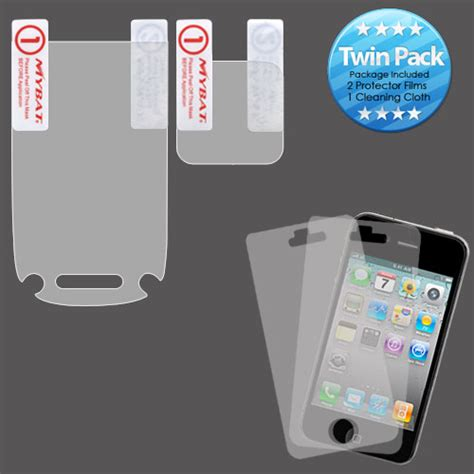 clear lcd anti glare screen protector cover for cell
