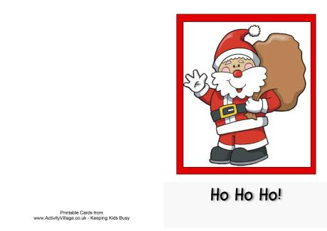 Printable Christmas Cards Activity Village | christmas cards printables happy holidays