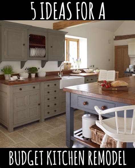 low budget kitchen remodel 5 ideas for a kitchen remodel on a budget