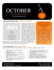 october newsletter template october newsletter template you can this free