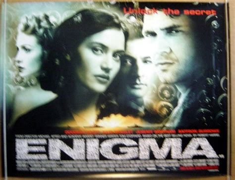 enigma film horror enigma 2001 original cinema quad film poster dougrat