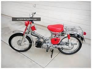 Honda C 100 1962 Honda C100 Cub 50 Chrome Promotional