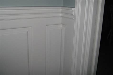 Wainscoting Raised Panel - zoom in and look at wainscoting panel details