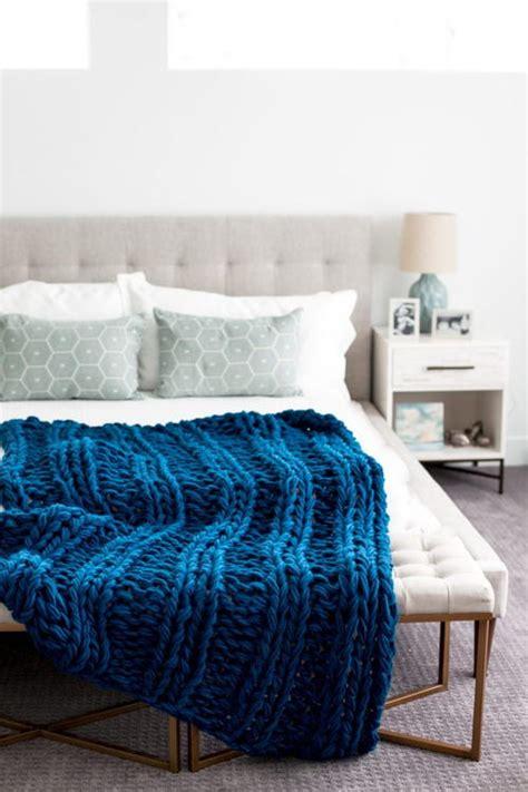 arm knit afghan chunky arm knit ribbed blanket allfreeknitting