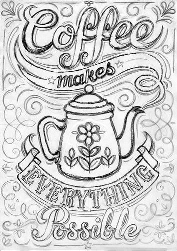 coloring pages for adults kitchen coffee print work in progress adult coloring coloring