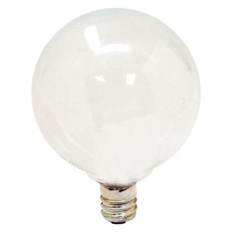 Ge 40w Equivalent Soft White G16 5 Globe Candelabra Base Dimmable Led Light Bulbs Candelabra Base