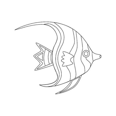 beautiful fish coloring pages amazing sea animals to color adornment ways to use