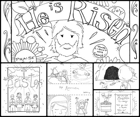 christian coloring card templates easter story coloring pages ebcs b24cab2d70e3