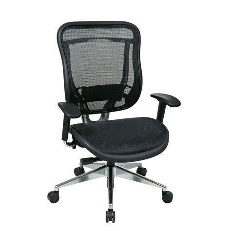 Office Chairs Home Depot Office 818 Series Black High Back Executive Office