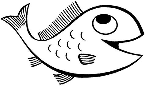 coloring pages of big fish cartoon fish coloring page for kids free printable picture