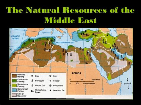 middle east resources map oman physical features images