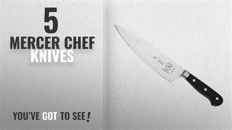 top 10 mercer chef knives 2018 mercer culinary