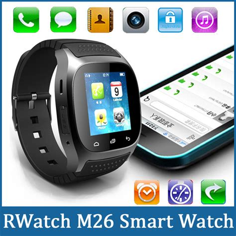 Smartwatch M26 smart watches rwatch m26 led bluetooth smart with call answer sms reminding