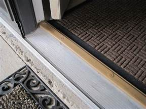 How To Replace A Threshold On An Exterior Door Exterior Replace Door Threshold Saddle Home Improvement Stack Exchange