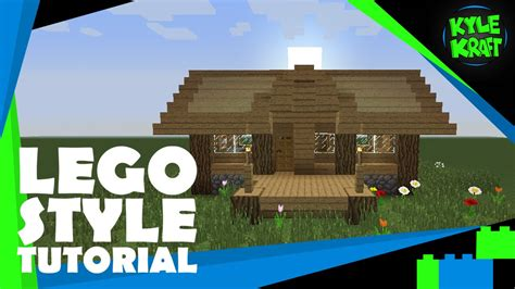 tutorial lego house minecraft lego style tutorial 13x10 solid survival