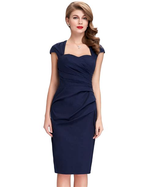 50 Partywear At Warehouse by Aliexpress Buy Navy Blue Womens Bodycon Dresses