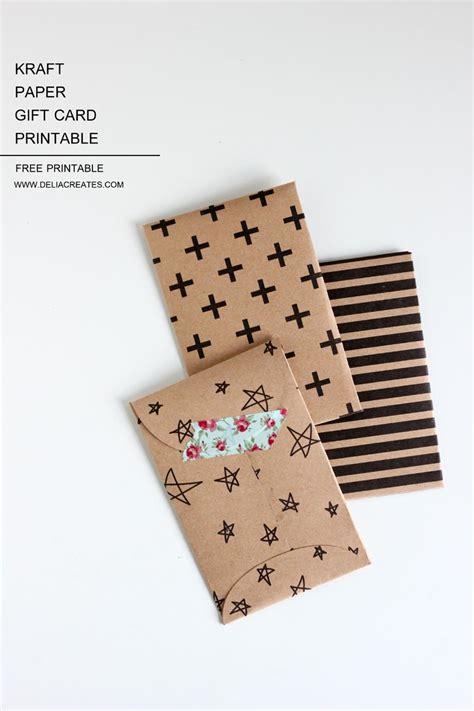 printable kraft paper place cards kraft paper gift card envelope free printable paper