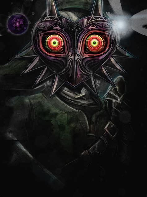 the legend of majora s mask a link to the past legendary edition the legend of legendary edition legend of majora s mask link painting signed