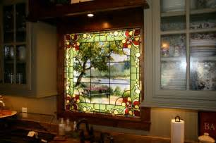 Houzz Small Bathrooms Ideas Kitchen Stained Glass Window Traditional Kitchen