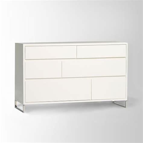 Hudson 6 Drawer Dresser by Hudson 6 Drawer Dresser White West Elm