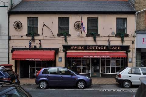 Swiss Cottage Restaurant by Swiss Cottage Cafe 33 High C Roger A Smith