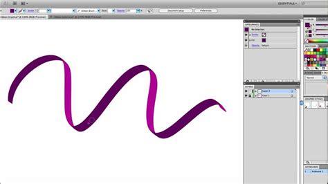 vector ribbon tutorial illustrator tutorial draw a free flowing vector ribbon