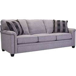 warren upholstered sofa by broyhill furniture