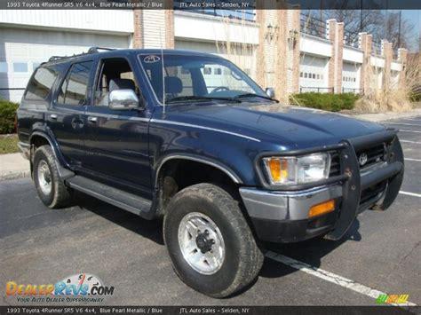 1993 Toyota 4x4 1993 Toyota 4runner Sr5 V6 4x4 Blue Pearl Metallic Blue