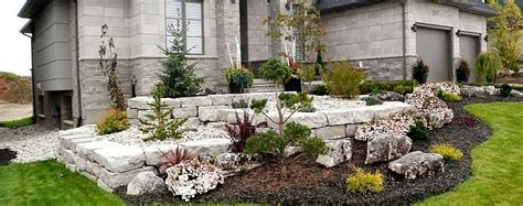 front yard landscaping canada stoneworld specializing in