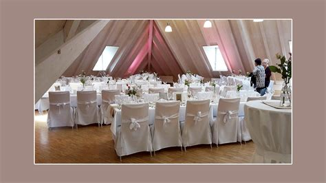 Hochzeitslocation Dekorieren by Stuhlhussenverleih Tischdeko Hochzeitsdeko