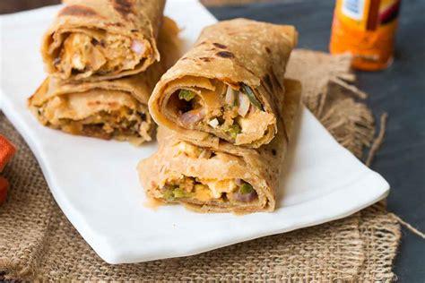paneer kathi roll recipe vegetarian paneer tikka kathi roll recipe by archana s kitchen