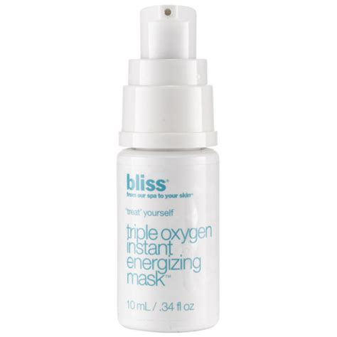 Best Oxygen Instant Energizing Mask by Bliss Oxygen Instant Energizing Mask 10ml Free