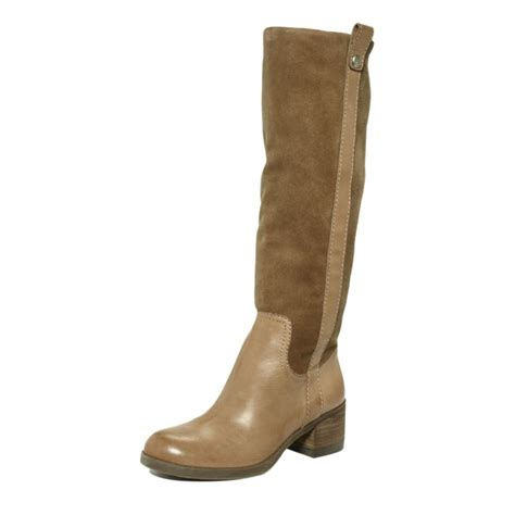 bcbgeneration hans boots in brown spicy suede lyst
