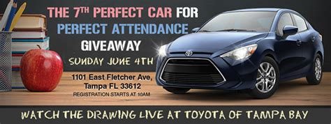 Perfect Attendance Car Giveaway - car giveaway recognizes students perfect attendance
