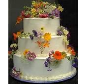 Garden Wedding  Wild Flowers Cake 2032717