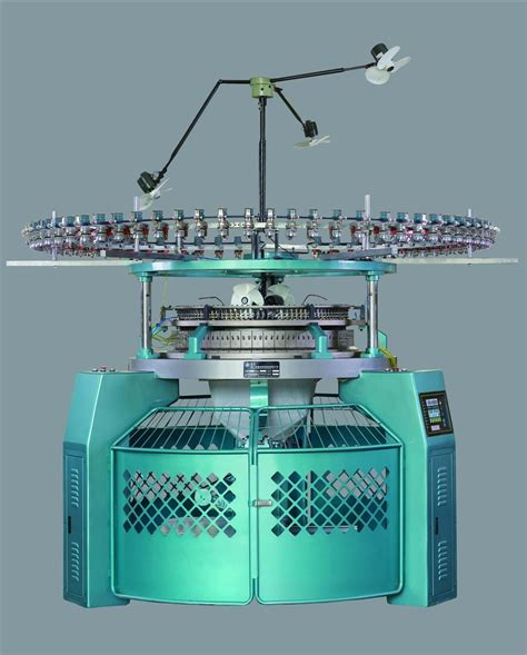 knitting machine for high speed 3 thread fleece circular knitting machine