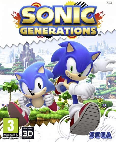 imagenes en 3d de sonic sonic generations para pc 3djuegos