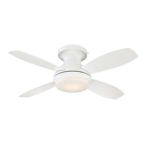 ceiling fan technology ge kinsey 44 in led indoor white ceiling fan with skyplug