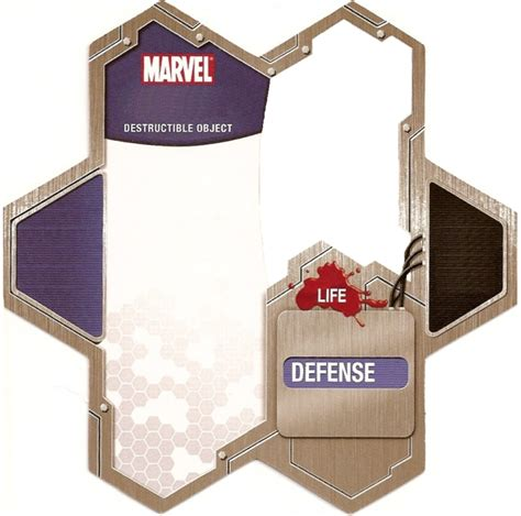heroscape card template marvel custom destructible object cards heroscapers