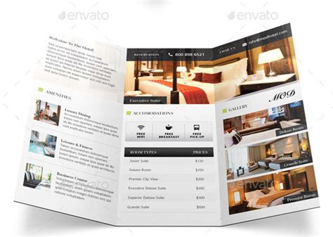 hotel brochure template 30 beautiful exles of inviting hotel brochures